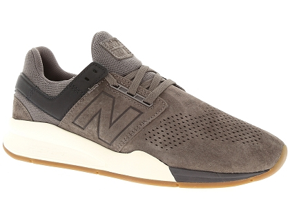 baskets montantes new balance ms247 marron