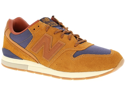 baskets basses new balance mrl996 marron