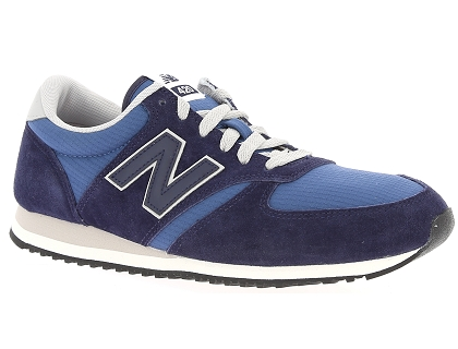 design intemporel e38ec ffc97 Les baskets basses new balance u420 bleu - chaussures homme ...