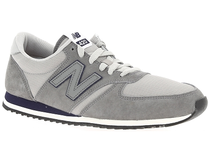 baskets basses new balance u420 gris