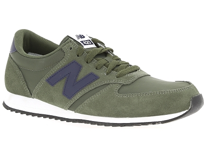 baskets basses new balance u420 vert