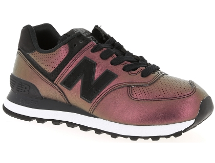 baskets basses new balance wl574 multicolor