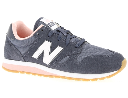baskets basses new balance wl520 gris