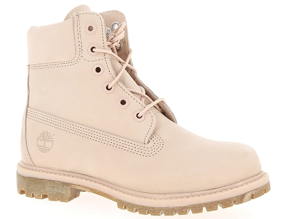 boots et bottines timberland 6in premium rose