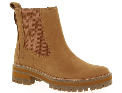 Les boots et bottines timberland courmayeur valley ch orange