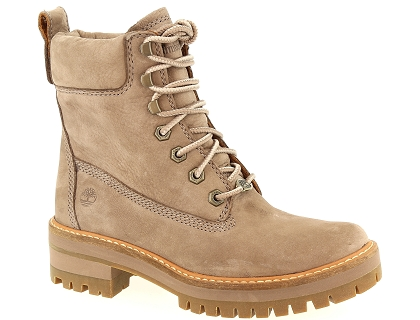 boots et bottines timberland courmayeur valley yb marron