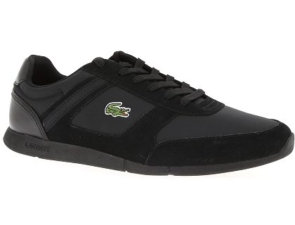 Menerva Lacoste Chaussures Sport Noir Les Homme Basses Baskets ukXTOiPZ