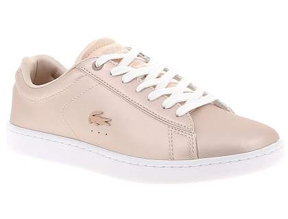baskets basses lacoste carnaby evo 118 7 rose