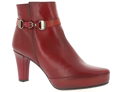 boots et bottines dorking blesa d7650 rouge