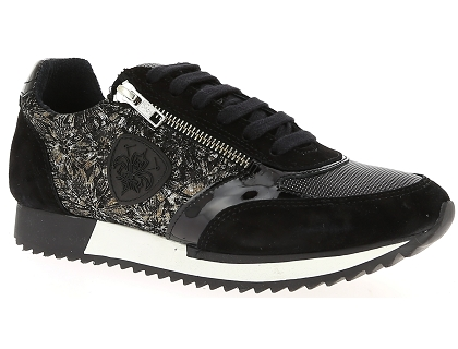 9617fbfdd9ffe2 Les baskets basses philippe morvan rail4 noir - chaussures femme ...