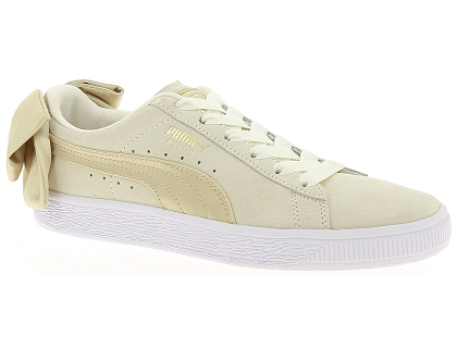 baskets basses puma wn bow beige