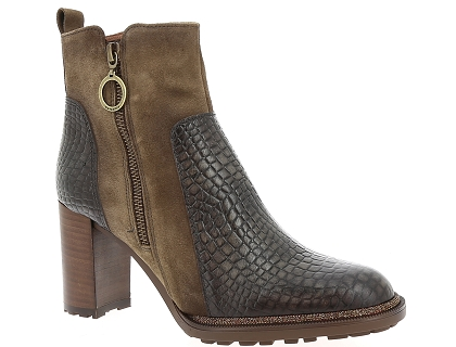 boots et bottines hispanitas hi87574 marron