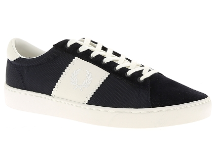 cbd214c19ec Les baskets basses fred perry spencer bleu - chaussures homme 115.00 ...