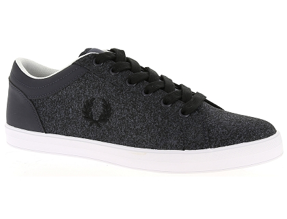 baskets basses fred perry baseline gris