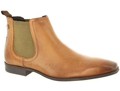 boots et bottines base london weaver marron