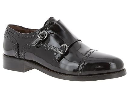 Les chaussures a lacets muratti t0385f noir - chaussures femme ... b300d675938a