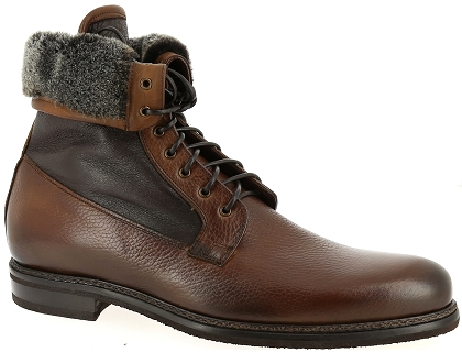 boots et bottines flecs t585 marron