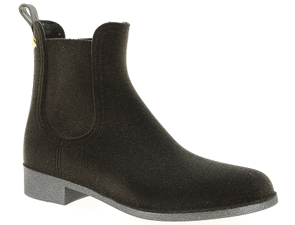 boots et bottines lemon jelly velvety gris