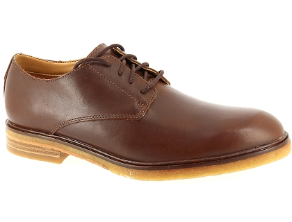 chaussures a lacets clarks clarkdale moon marron