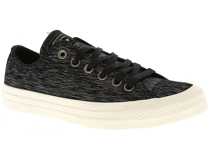 baskets basses converse ctas ox metallic noir