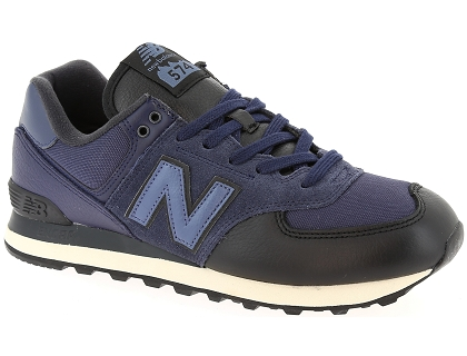 baskets basses new balance ml574 bleu