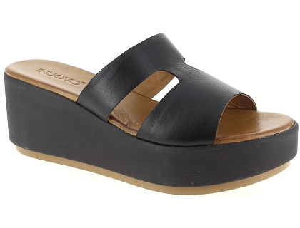 mules inuovo 123011 noir