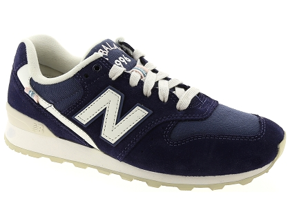 baskets basses new balance wr996 bleu