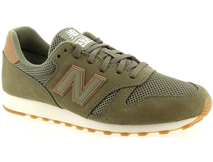 baskets basses new balance ml373 vert