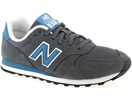 baskets basses new balance ml373 gris