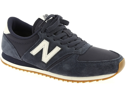baskets basses new balance u420 bleu