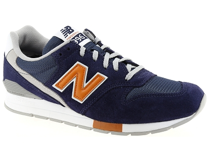 baskets basses new balance mrl996 bleu