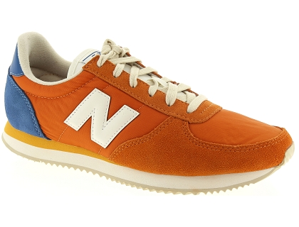 baskets basses new balance u220 orange