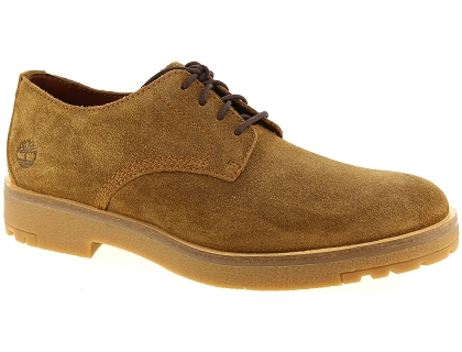 chaussures a lacets timberland folk gentleman marron