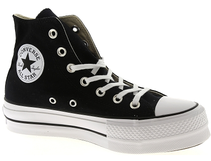 baskets montantes converse chuck taylor all star noir