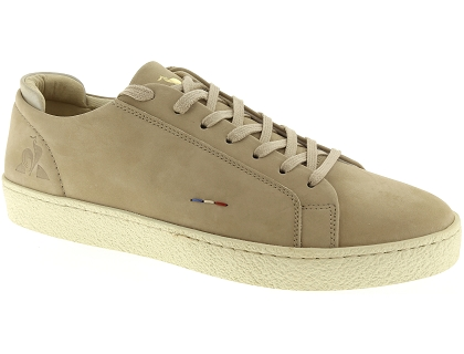 baskets basses le coq sportif club beige