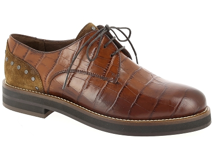 chaussures a lacets muratti remlap marron