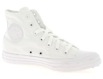 baskets montantes chuck taylor all star blanc