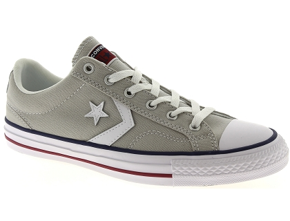 baskets basses converse star player gris