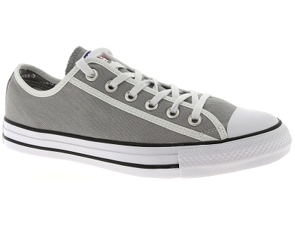 baskets montantes converse all star gris