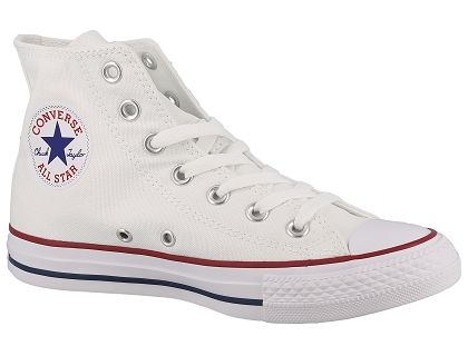 baskets montantes converse all star blanc