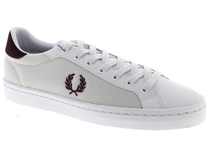baskets basses fred perry 5119 blanc
