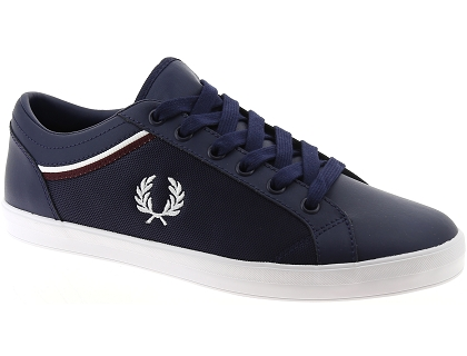 baskets basses fred perry 5151 bleu