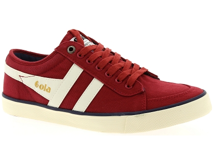 chaussures a lacets gola comet rouge