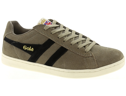 chaussures a lacets gola equipe gris